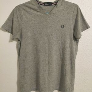 Fred Perry Grey T-shirt - Men's S